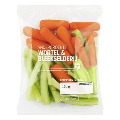 Huismerk Snoepgroente wortel bleekselderij