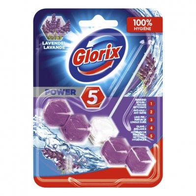Glorix  Wc blok lavendel