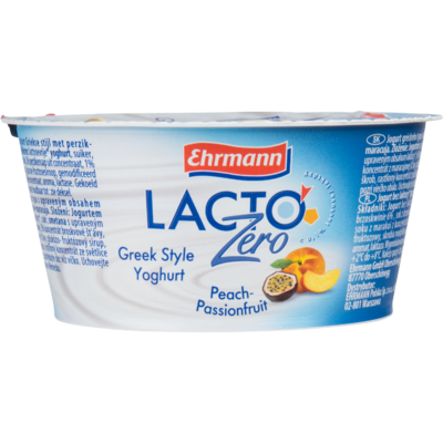 Ehrmann Lacto zero yoghurt