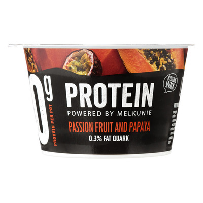 Melkunie Protein quark passionfruit and papaya