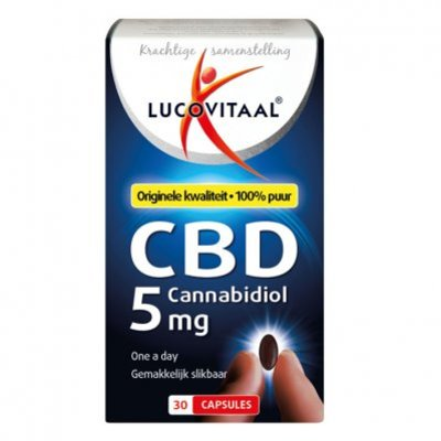 Lucovitaal CBD cannabidiol 5 mg capsules