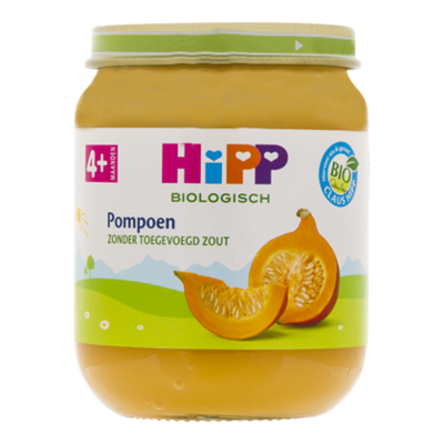 HiPP 4+ Pompoen biologisch