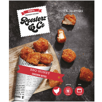 Roosterz & Co BBQ-honing chicken bites