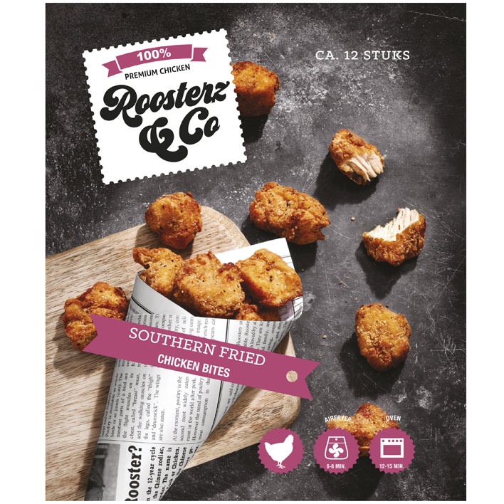 Roosterz & Co Southern fried chicken bites