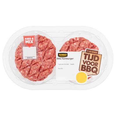 Huismerk BBQ Hamburger 4 Stuks