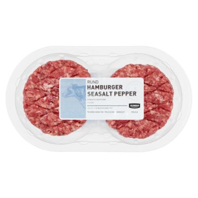 Huismerk Rund Hamburger Seasalt Pepper 2 Stuks