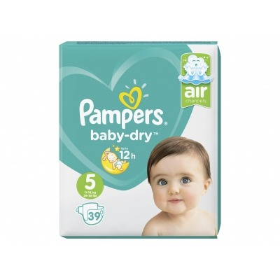 Pampers Baby dry maat 5 value