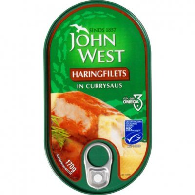 John West Haringfilets in currysaus MSC