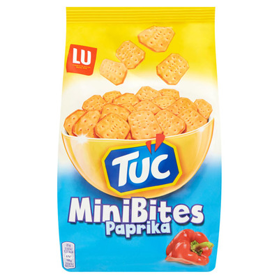 LU Tuc crackers minibites paprika