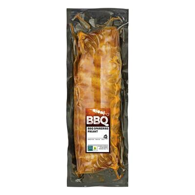 Huismerk BBQ spareribs pikant