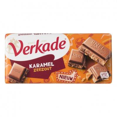 Verkade Krokante karamel zeezout chocolade