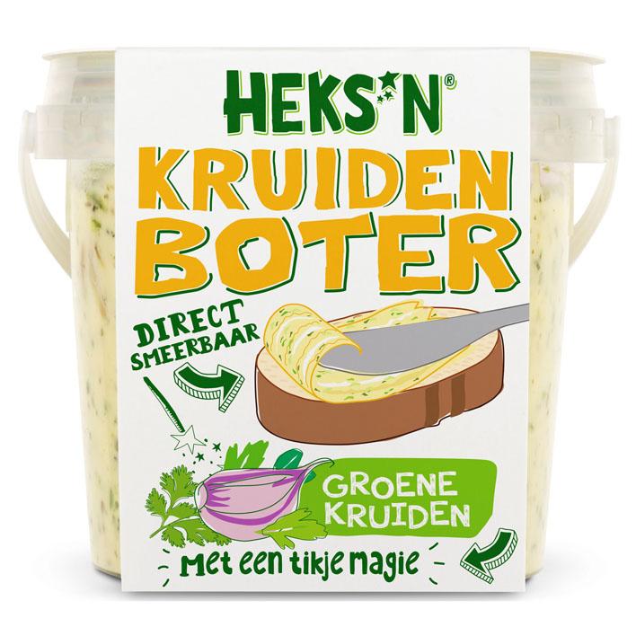 Heks'nkaas Boter groene kruiden