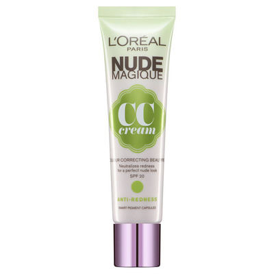 L'Oréal Paris nude magique CC cream antiredness