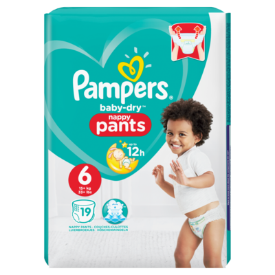 Pampers Baby dry pants extra large 16+ kilogram
