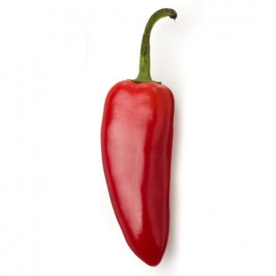 Huismerk Jalapeño peper rood