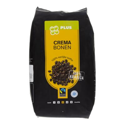Huismerk Crema bonen basis Fairtrade