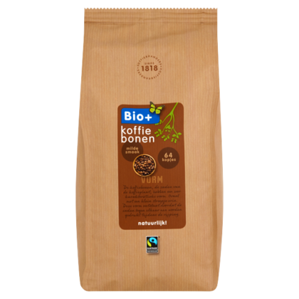 Bio+ Koffiebonen Fairtrade