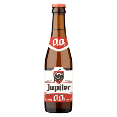 Jupiler 0% Alcohol Fles