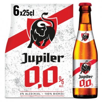 Jupiler 0.0% alcohol vrij