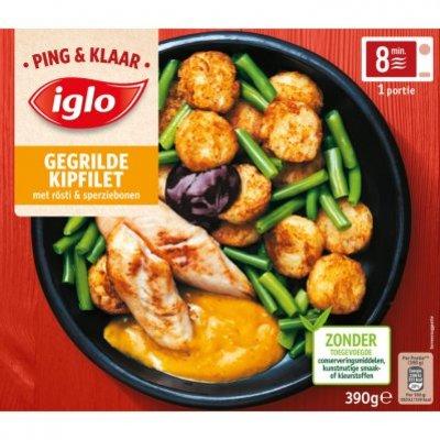 Iglo Ping & Klaar gegrilde kipfilet met rösti