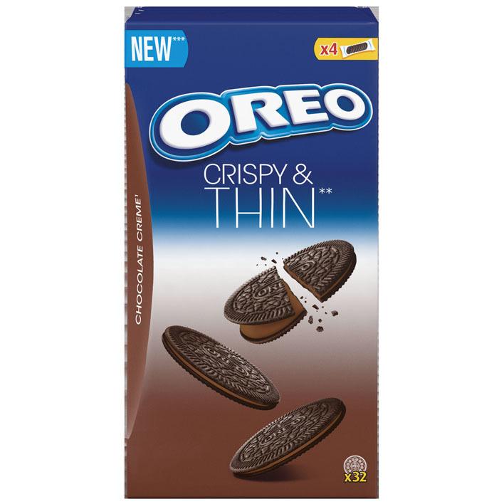 Oreo Chocolate creme crispy & thin