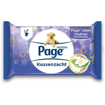 Page Vochtig Toiletpapier Kussenzacht