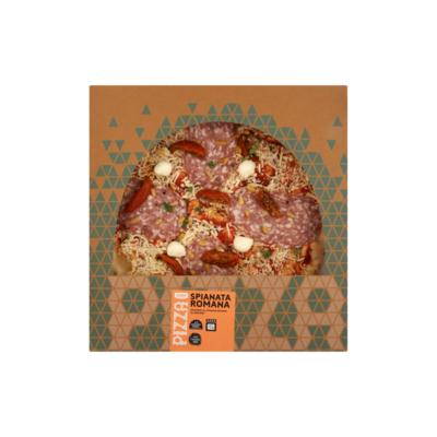 Huismerk Pizza Spianata Romana
