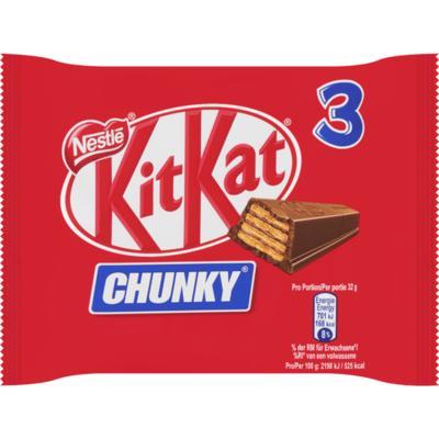 Nestlé Kitkat chunky 3 stuks