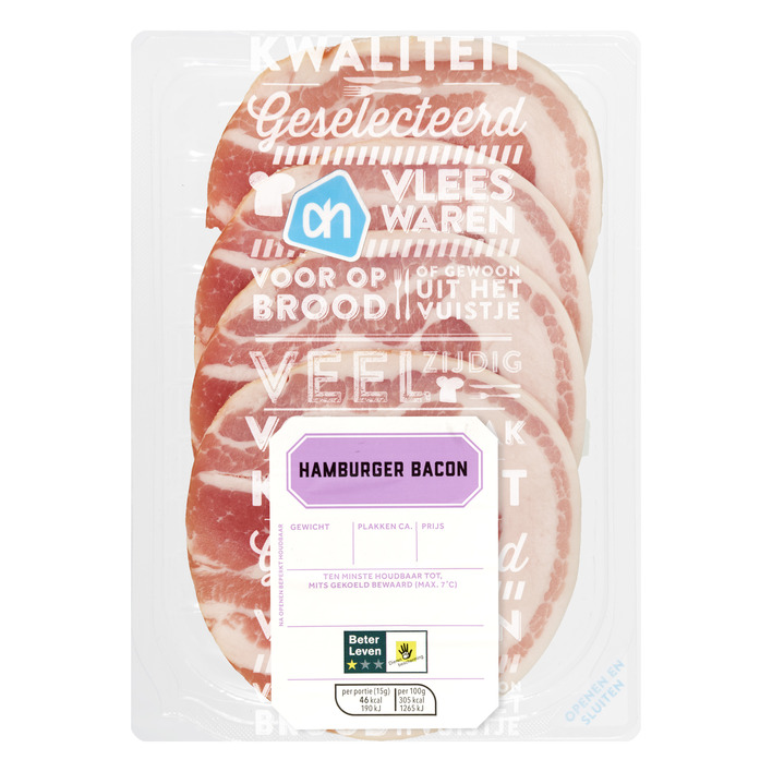 Huismerk Hamburger bacon