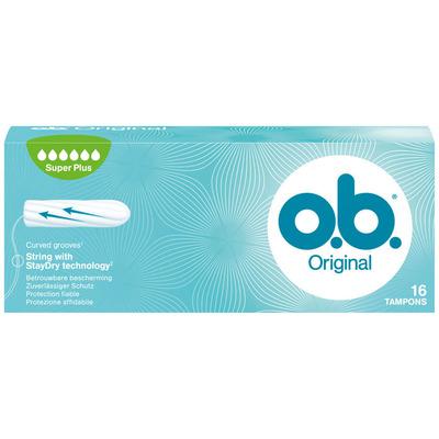 OB Tampons original super plus