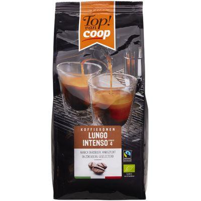 Top! Van Coop Lungo Intenso Koffiebonen
