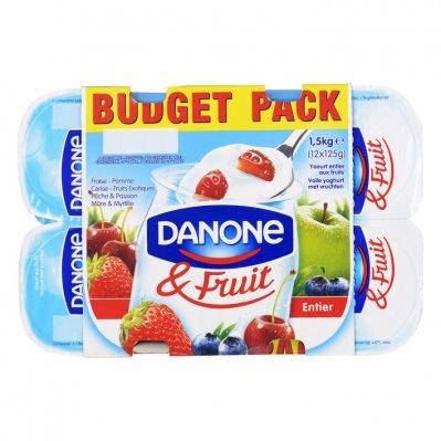 Danone & Fruit volle yoghurt mix