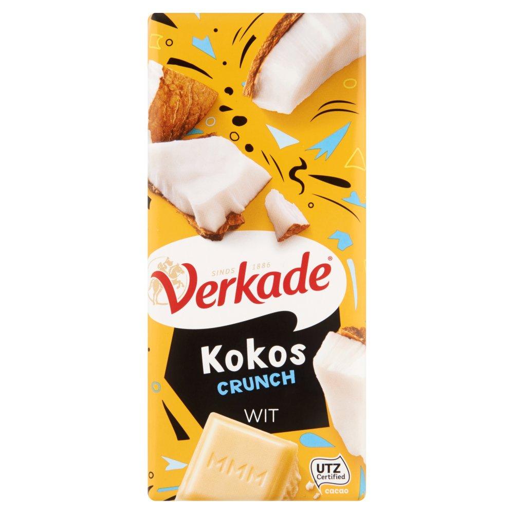 Verkade Kokos Crunch Wit 111 g
