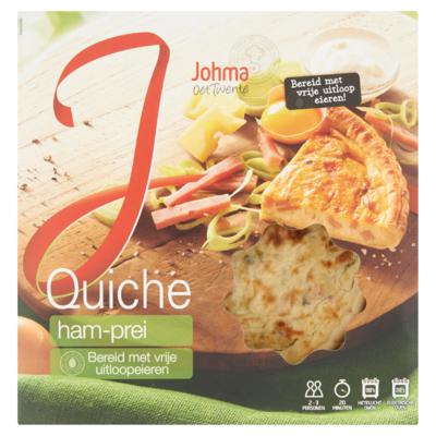 Johma Quiche Ham-Prei 400 g