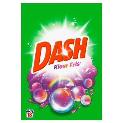 Dash Waspoeder Kleur Fris 1,17KG 18Wasbeurten
