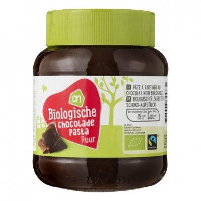 Huismerk Biologisch Chocoladepasta puur