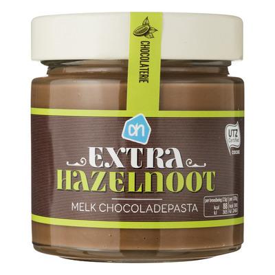 Huismerk Chocoladepasta melk met extra hazelnoot