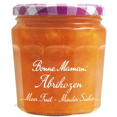 Bonne Maman Meer fruit minder suiker abrikozen jam