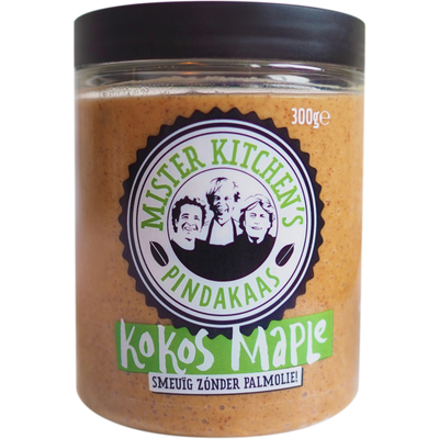 Mister Kitchen's Pindakaas kokos maple