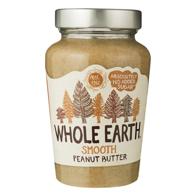 Whole Earth Smooth peanutbutter