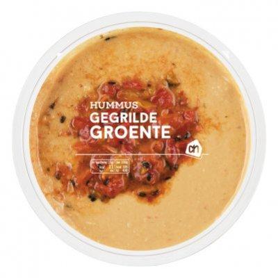 Huismerk Hummus gegrilde groenten