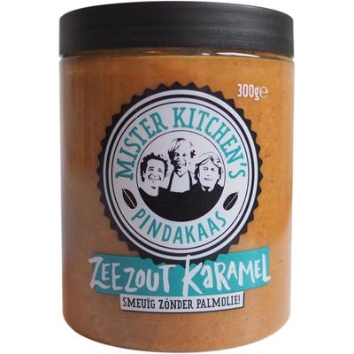 Mister Kitchen's Pindakaas zeezout karamel