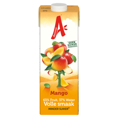 Appelsientje Minder fruitsuiker mango