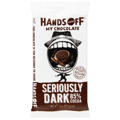 Hands Off My Chocolate Seriously dark 85% cacao
