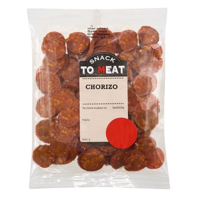 Snack to Meat Chorizo