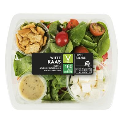 Huismerk Lunchsalade witte kaas humus