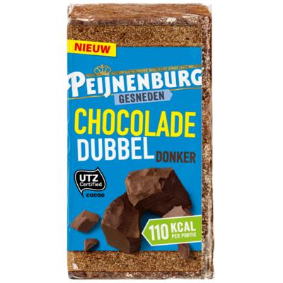 Peijnenburg Gesneden chocolade dubbel donker