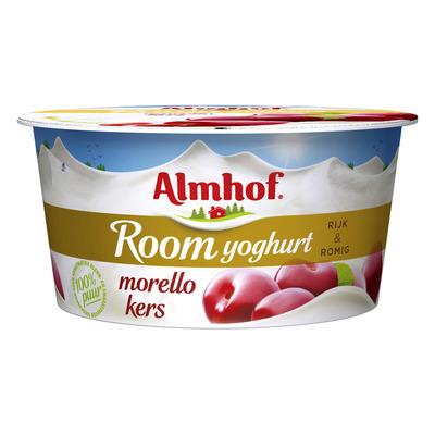 Almhof Roomyoghurt morello kers