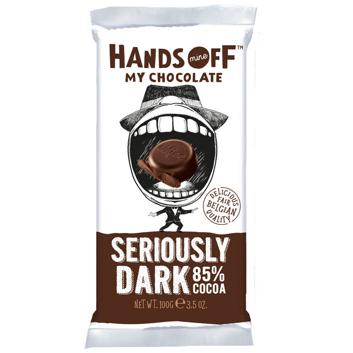 Hands Off Seriously dark 85% cocoa