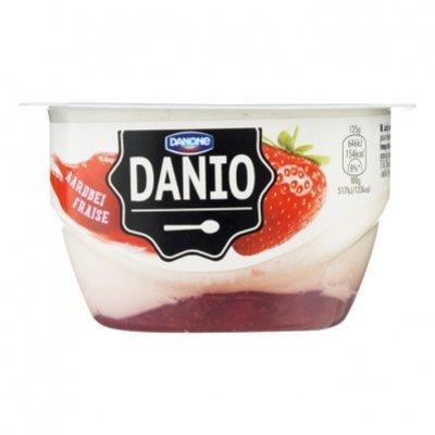 Danone Danio luchtige kwark aardbeien